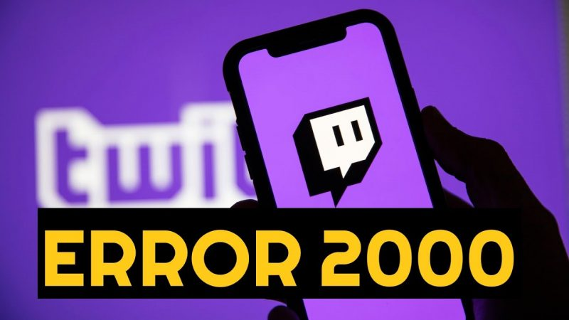 How to Fix Twitch 2000 Network Error on Chrome?